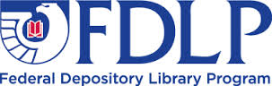 The Federal Depository Library Program logo- a bird with some books.